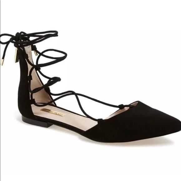1b1db2116f9 Louise et Cie Shoes - Louise et Cie Women s Abri Suede Lace up flat 9.5